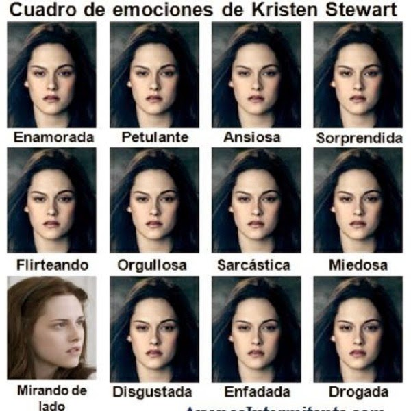 Emociones de Kristen Stewart