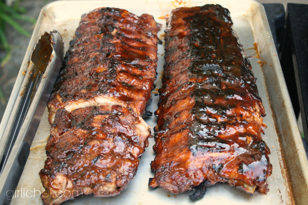 Barbecue ribs simple and tender all roads lead to the kitchen - Ribs on the grill recipe ...
