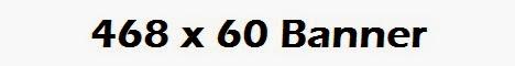 468 x 60 Banner