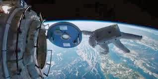 estación espacial, gravity, gravedad, cápsula, espacio, Bullock