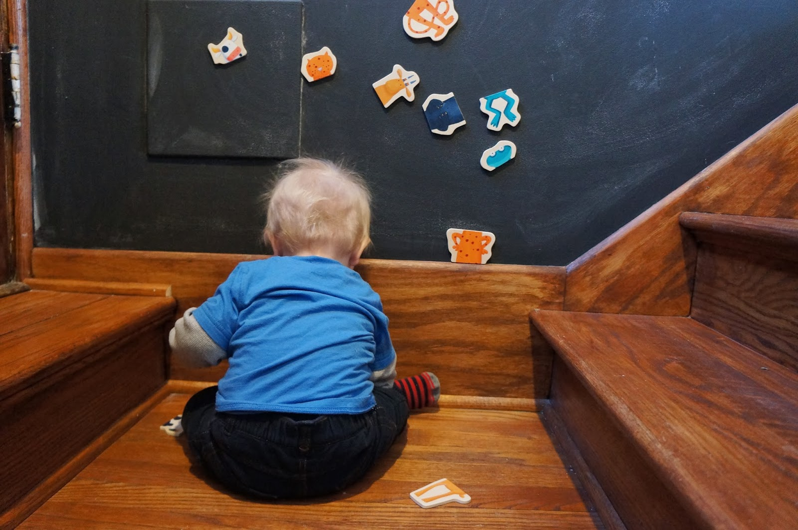 DIY Magnetic Chalkboard Wall