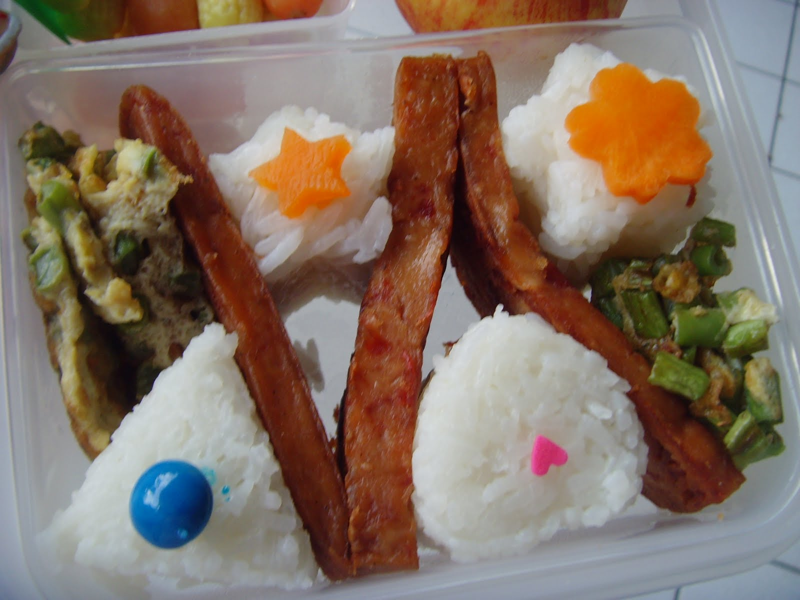 how to cook luncheon meat with egg