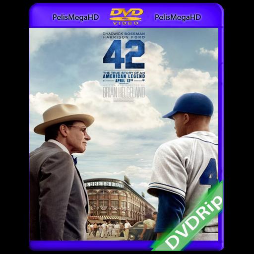 42 (2013) DVDRip Español Latino