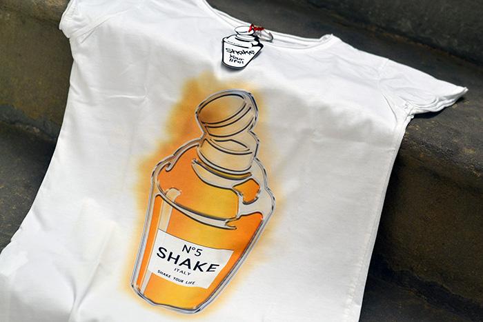 maglietta chanel numero 5