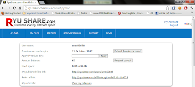 ryushare premium accounts 24 september 2012 WITH PROOF