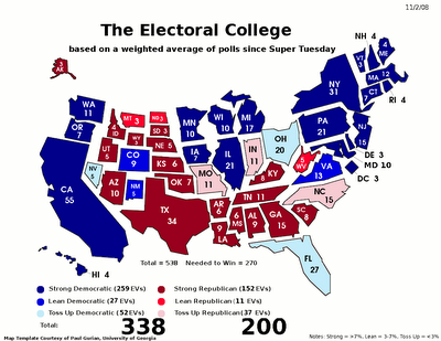 Jeff Weintraub Mapping the political geography of US Presidential