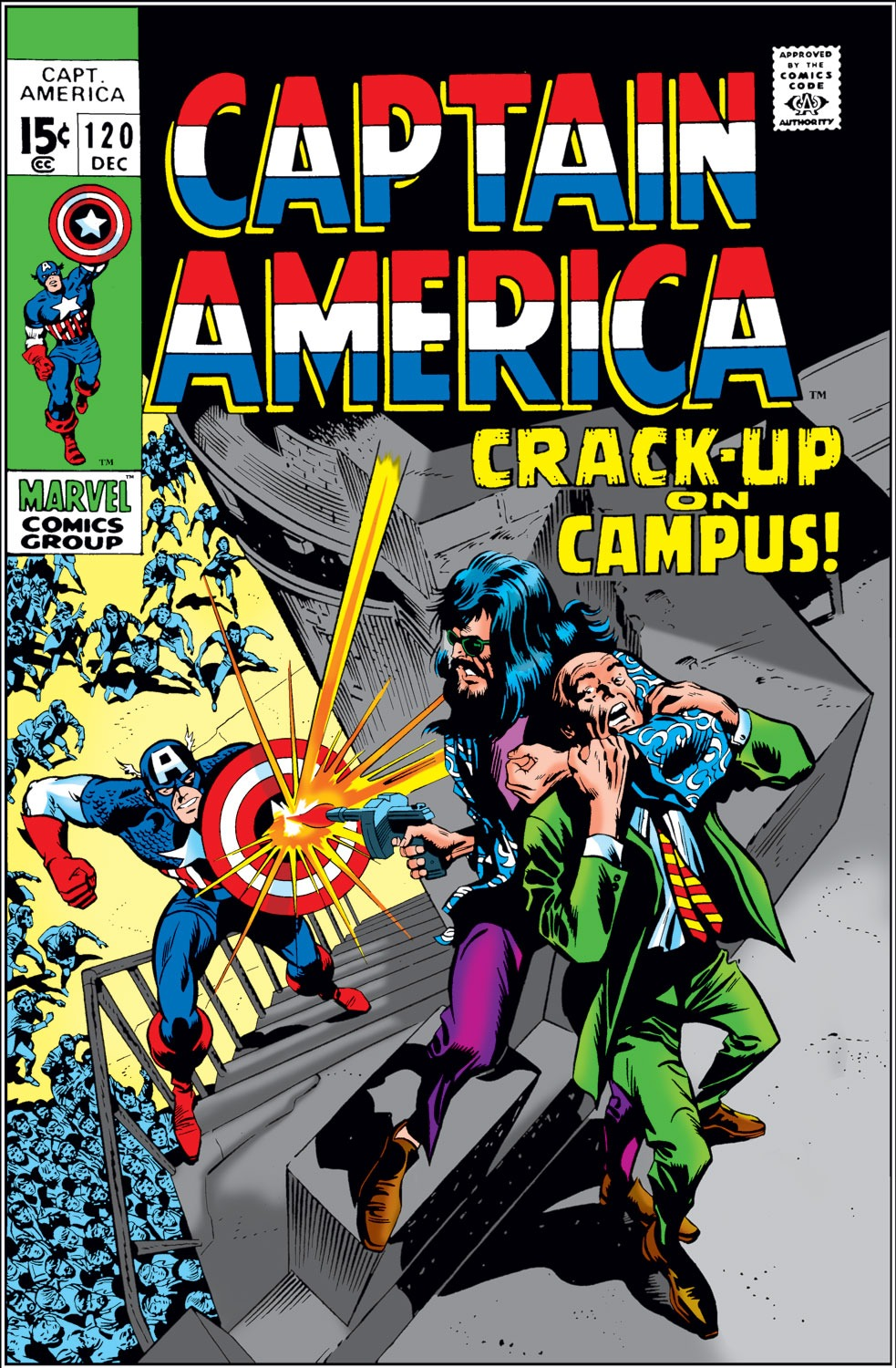 Captain America (1968) Issue #120 #34 - English 1