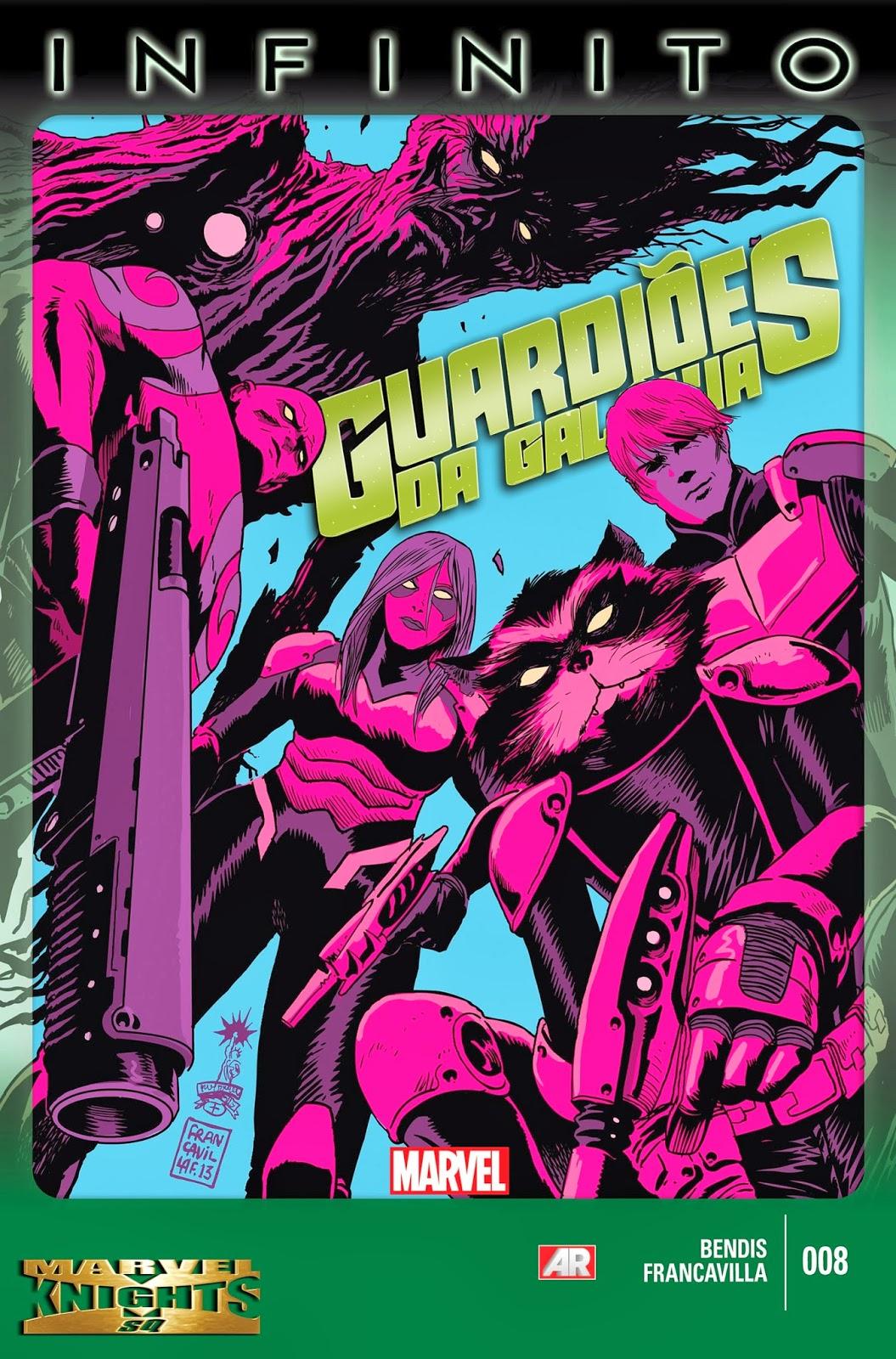Guardiões da Galáxia #8