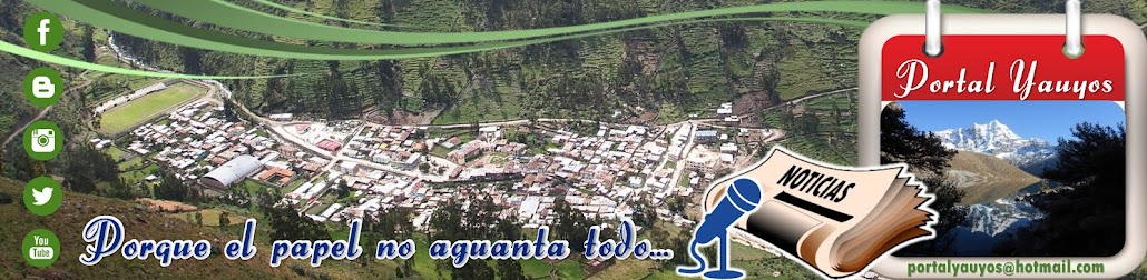 PORTAL YAUYOS | Noticias de la provincia de Yauyos