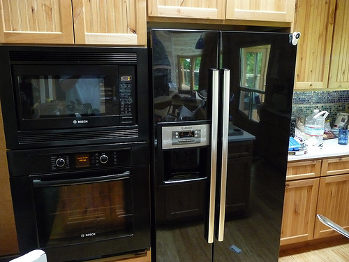 Kitchen Decor Black Kitchen Appliances