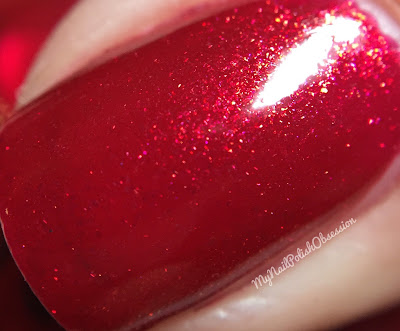 China Glaze Wishes; Peppermint To Be