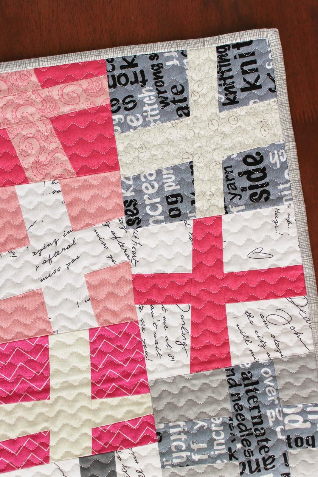 Teaginny Designs: Wonky Cross Quilt : modern quilt tutorial - Adamdwight.com