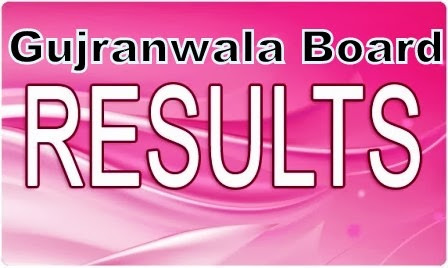 BISE Gujranwala 5th result 2014