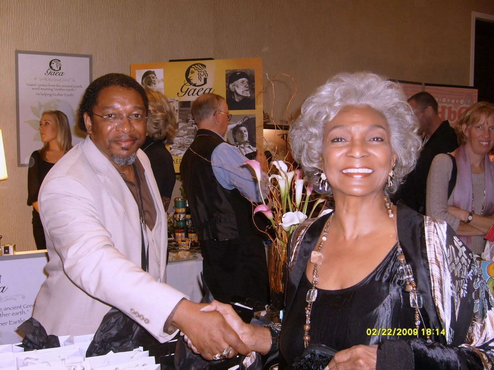 Nichelle Nichols of Star Trek