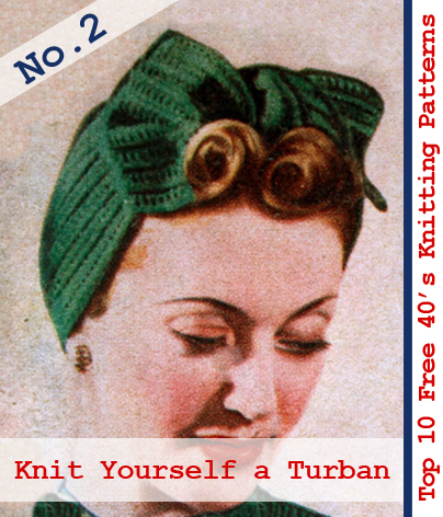 Free Golly Knitting Patterns : Guest post: Top 10 free 1940s knitting patterns from the Vintage Pattern File...