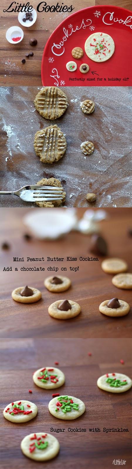 Little Elf Cookies.   Everyday Magic.