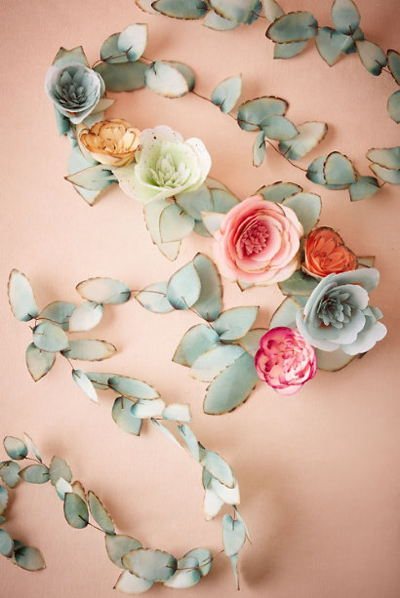 > My garland for BHLDN
