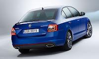 SKODA Octavia RS rear