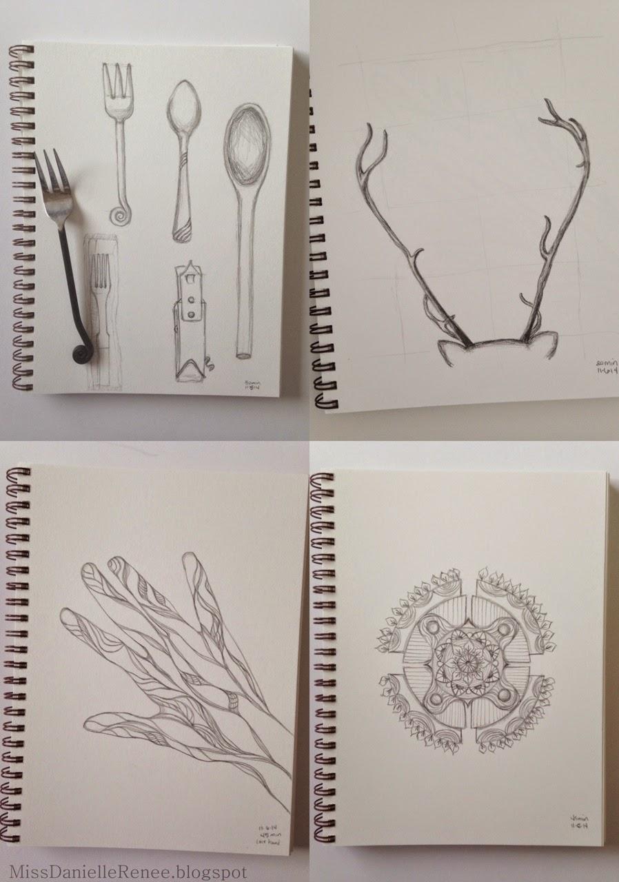 30 Day Doodle Challenge Week 3