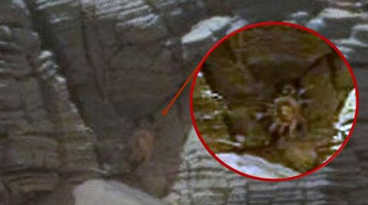 No hay explicación para el cangrejo gigante y la mujer alienígena encontrados en fotografias de Marte