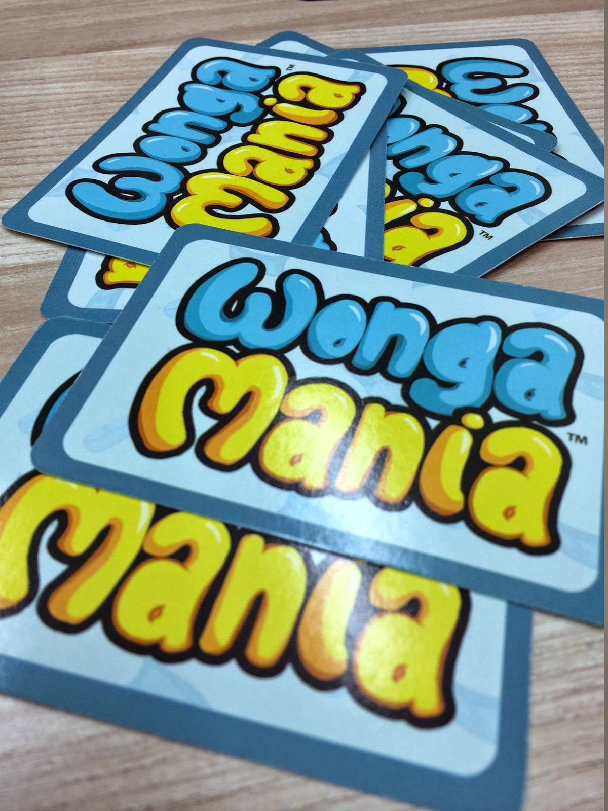 Wongamania card game