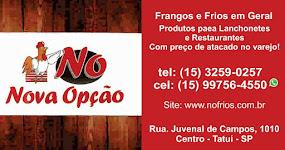 NOVA OPÇÃO Frango e Frios em Geral Produtos para Lanchonete e Restaurante