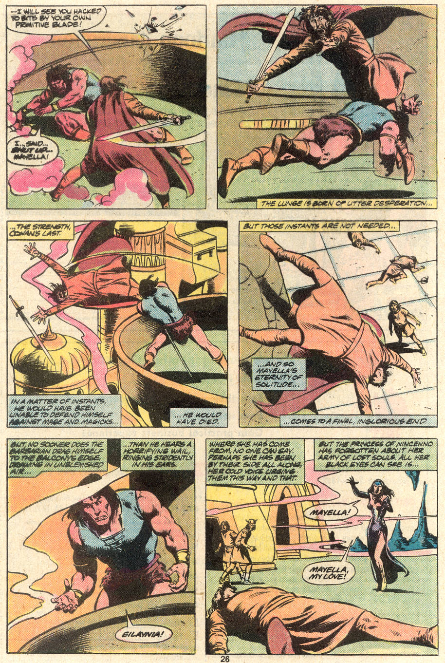 Conan the Barbarian (1970) Issue #124 #136 - English 20