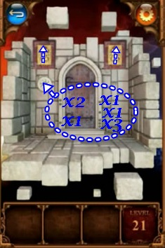 100 Doors Parallel Worlds Level 21 22