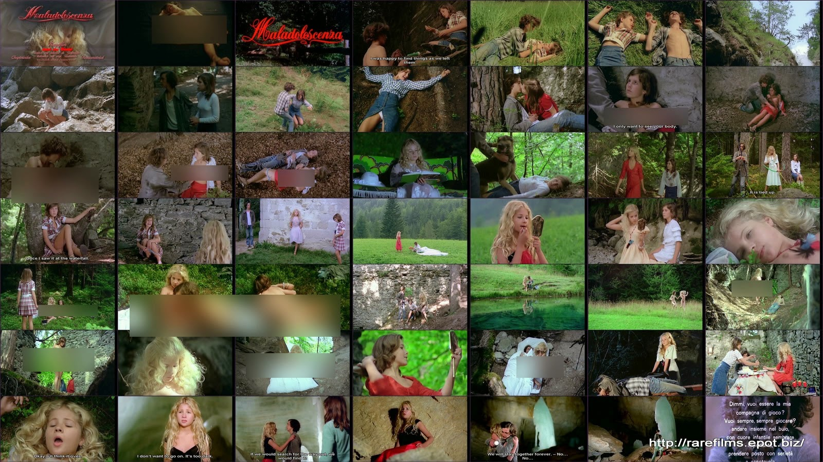 Грехи Юности / Распутное детство / Maladolescenza / Spielen wir Liebe / Puppy Love. DVD.