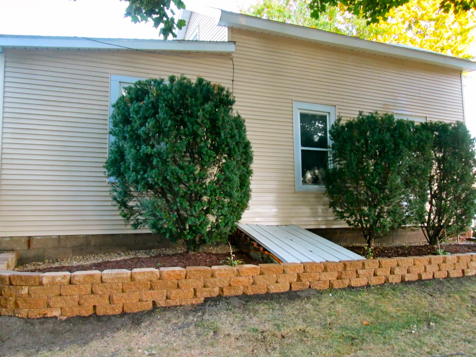 Landscaping On Side Of House : This little house of mine landscaping the side yard is