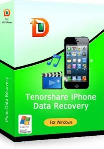 برنامج استعادة المفات المحذوفة للايفون download tenorshare iphone data recovery
