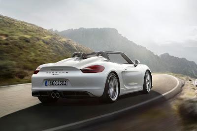 2016 Porsche Boxster Spyder 2015