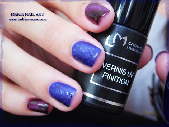 nail art avec semi-permanent effet oeil de chat13