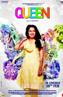 Queen First Look Poster - Kangna Ranaut