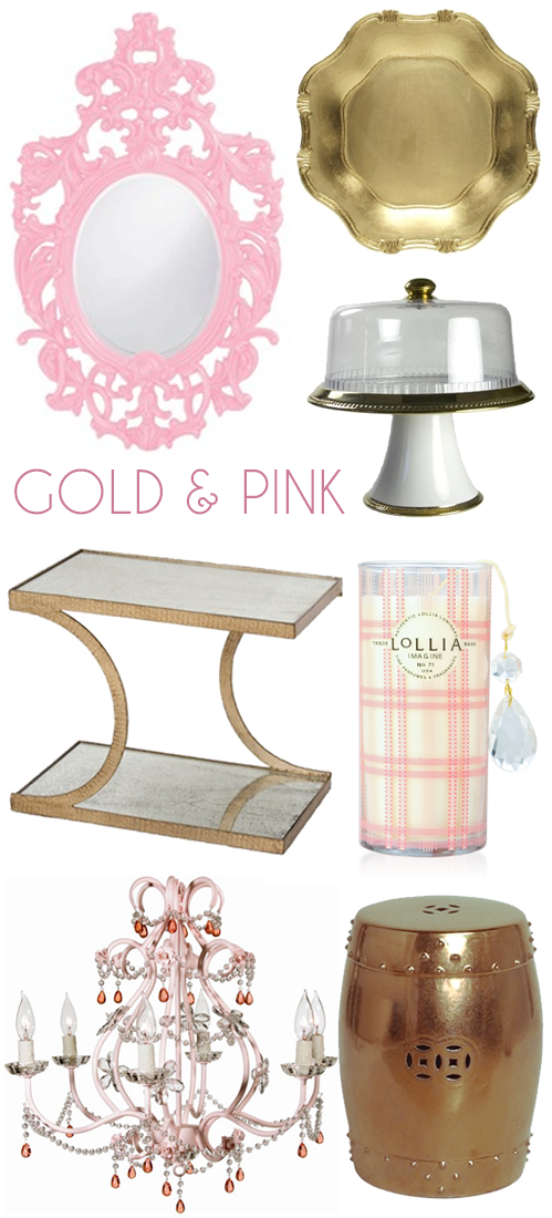 sundays at home 16 pink gold home decor