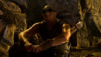 Riddick Vin Diesel takes a break