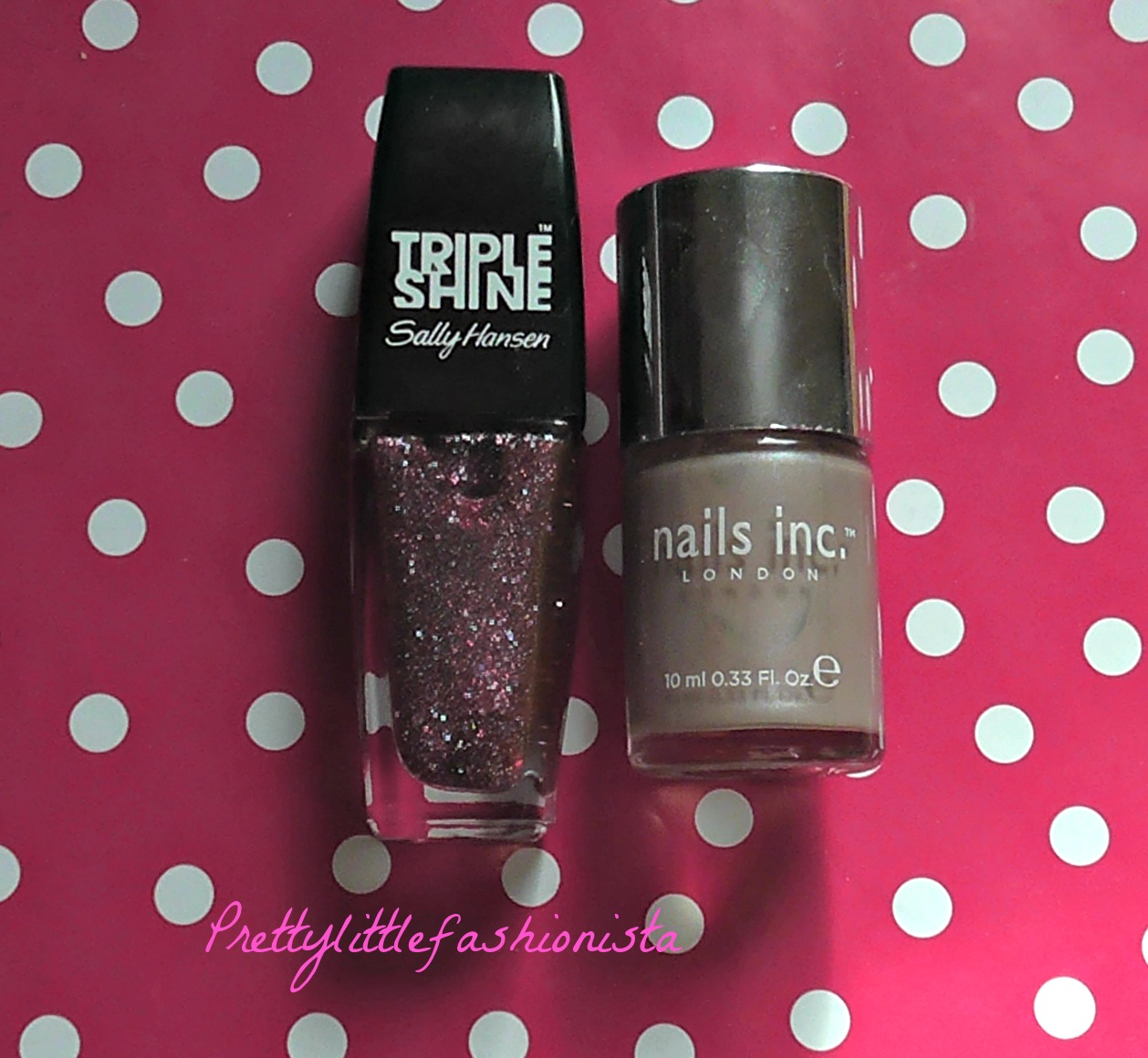 Nails Inc Chester Street and Sally Hansen Changing Tides