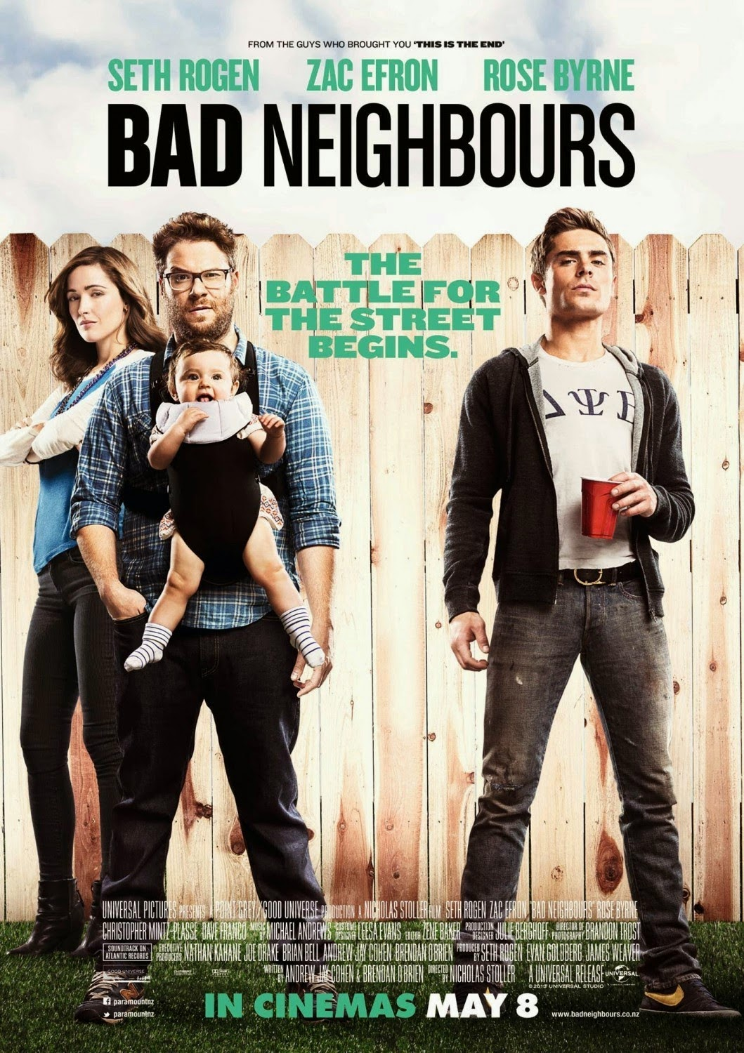 Sinopsis Film Neighbors (2014)