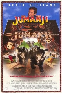 Jumanji Robin williams comedy adventure movie
