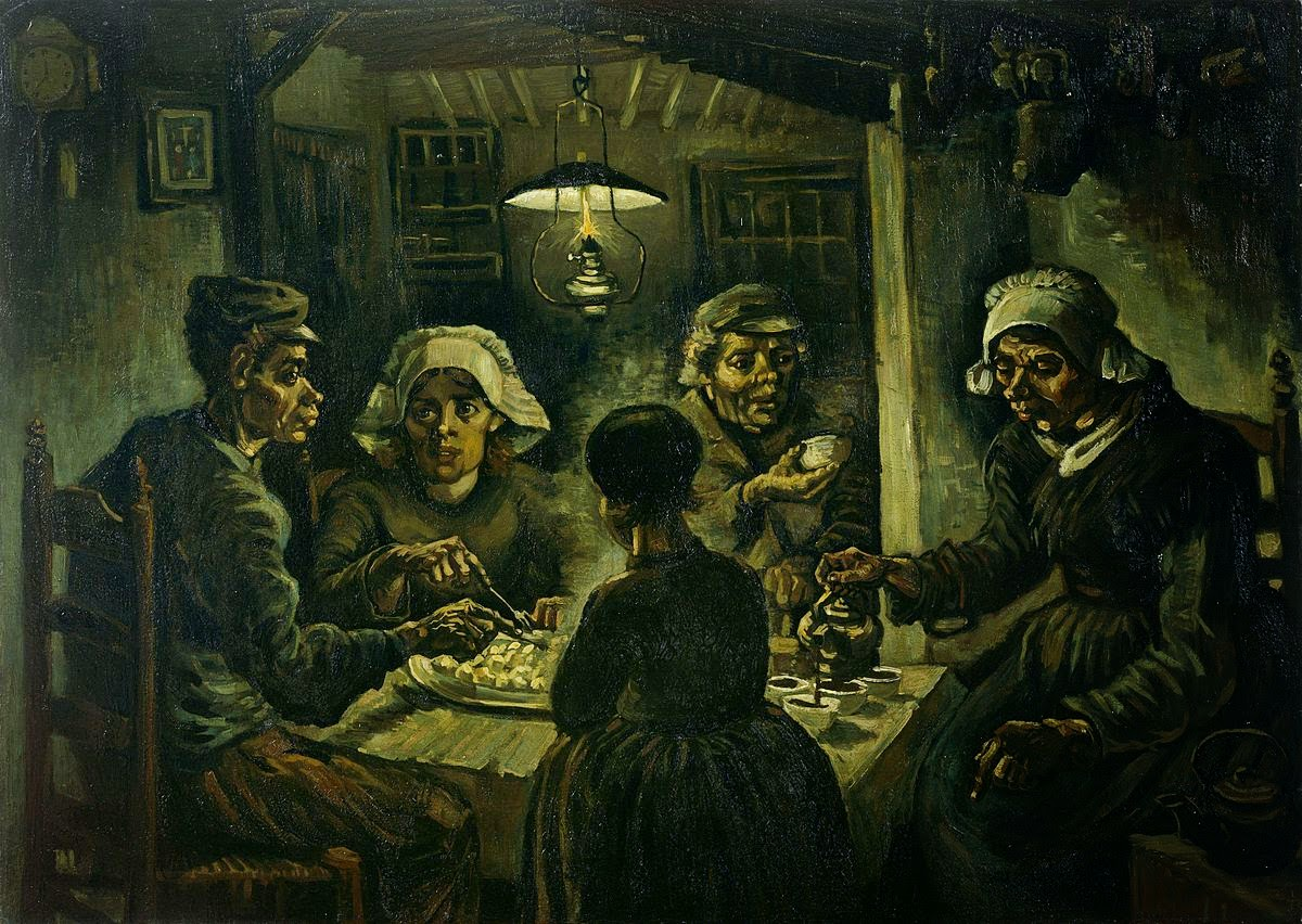 Van Gogh the Potato Eaters