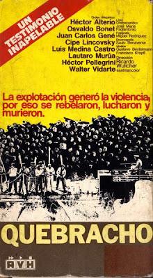 Quebracho Cine político argentino