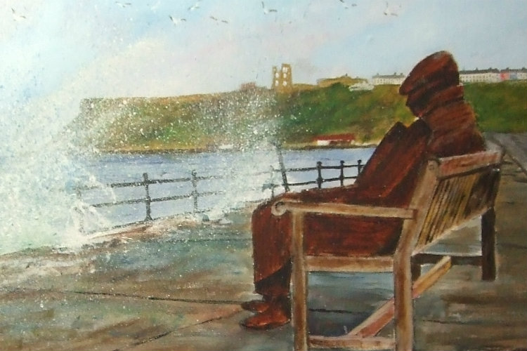 Fred by Roy Buckley, Scarborough Art Society
