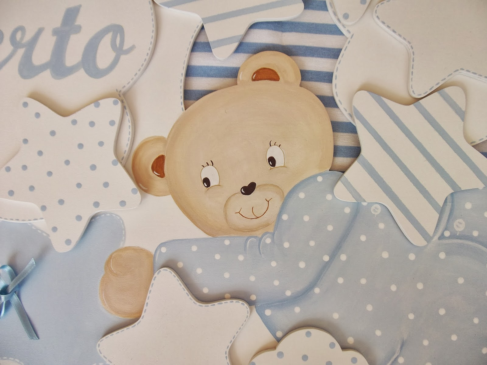 Decoraci n infantil pekerines siluetas de madera para - Estrellas decoracion infantil ...