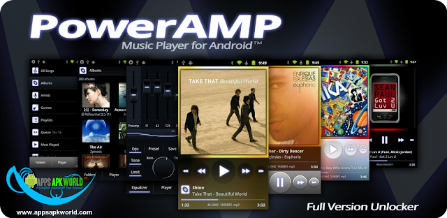 Poweramp Music Player v2.0.10 Build 580 Cracked Patched APK image