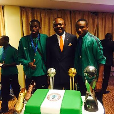 Nigeria golden eaglets world champion