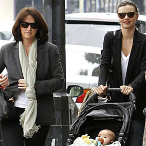 Miranda Kerr's Motherly Date Lunch
