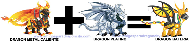 como sacar el dragon bateria en dragon city combinacion 2