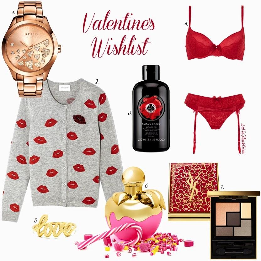 Valentine, Valentijn, Love, Kisses, Harts, Fashion, Beauty, Fashionblogger, Beautyblogger, Bblogger, Lingerie, Perfume, Jewellery, Gift, Blog, www.LaVieFleurit.com