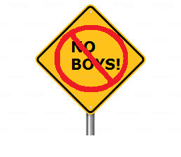 no boys men allowed