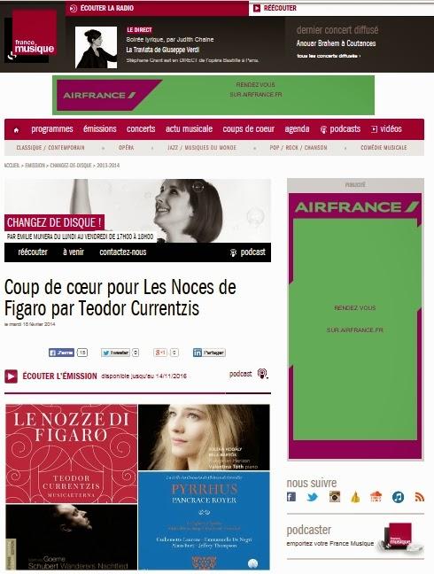 http://www.francemusique.fr/emission/changez-de-disque/2013-2014/coup-de-coeur-pour-les-noces-de-figaro-par-teodor-currentzis-02-18-2014-17-00